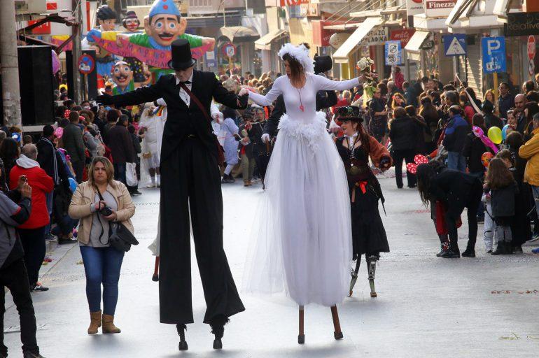 Crete's carnival season reaches its climax