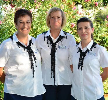 The Three Musketeers: meet the Housekeeping Managers responsible for the impeccable image of Creta Maris