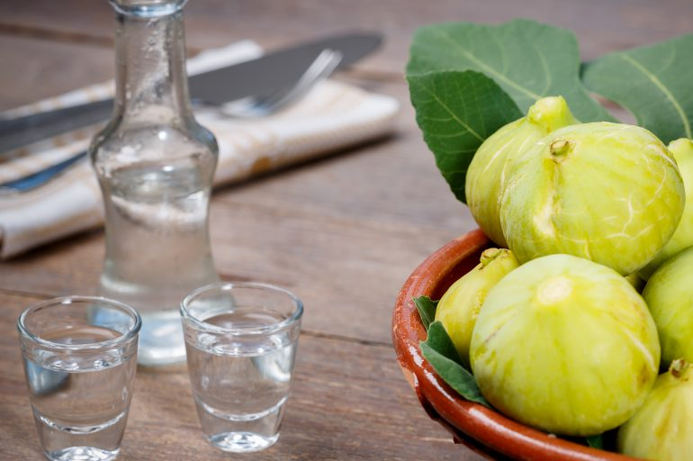 October welcomes the raki-making season