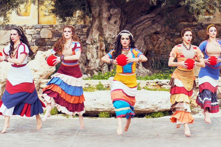 Meet the Minoans in a theatre spectacle