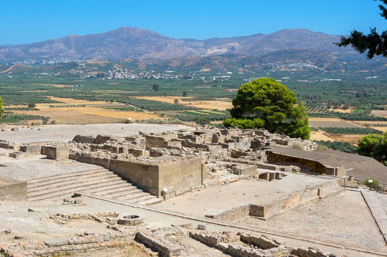 Visit the Minoan Palace of Phaistos