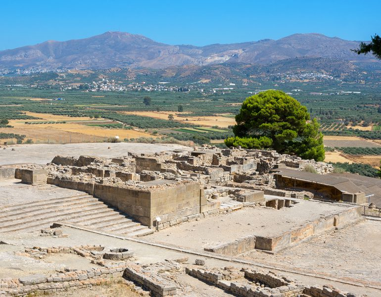 Visit the Minoan Palace of Phaistos