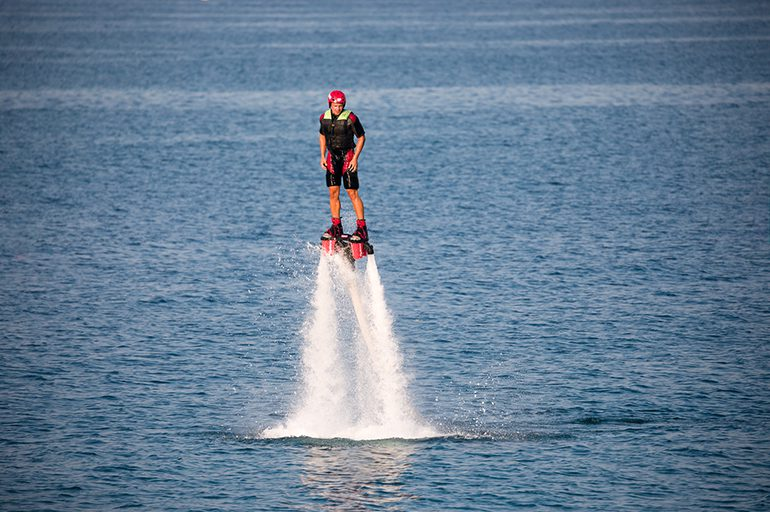 Fun and safety meet at Creta Maris Water Sports Center
