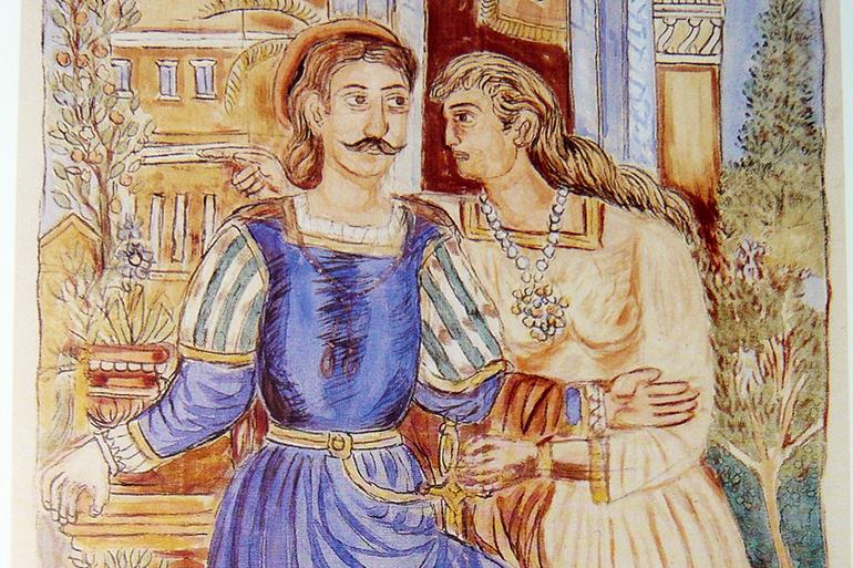 The story of Erotokritos
